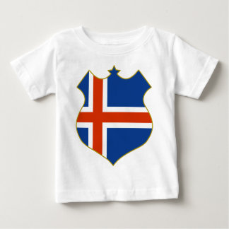 Iceland-shield.png Baby T-Shirt