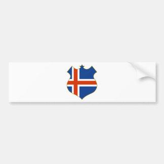 Iceland-shield.png Bumper Sticker