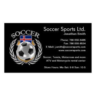 Iceland Soccer 2016 Fan Gear Pack Of Standard Business Cards