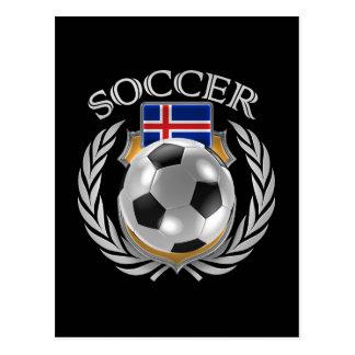 Iceland Soccer 2016 Fan Gear Postcard