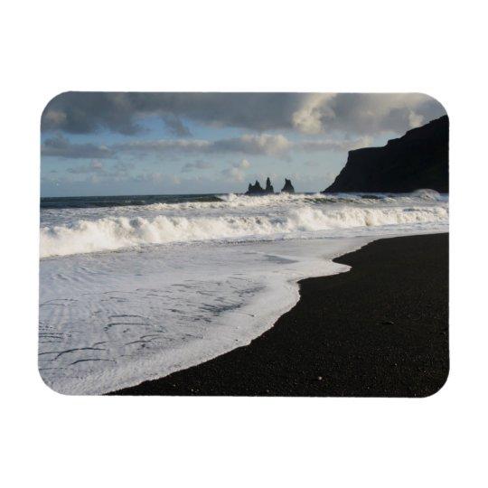Iceland. South. Vik i Myrdal Rectangular Photo Magnet