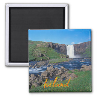 Iceland Square Magnet
