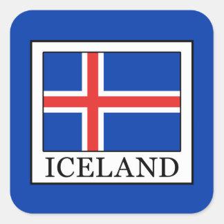 Iceland Square Sticker