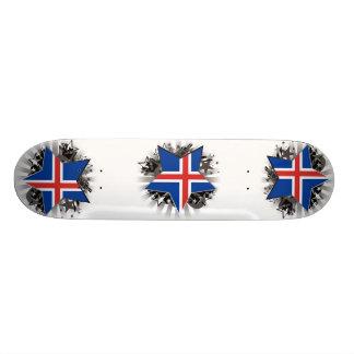 Iceland Star Skateboard Deck