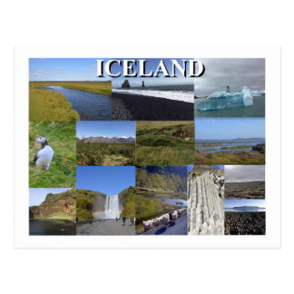 Iceland Summer Landscapes Postcard