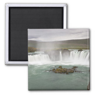 Iceland. View of Godafoss Falls on the Magnet