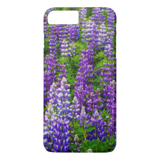 Iceland. Vik i Myrdal. Field of Lupines iPhone 8 Plus/7 Plus Case