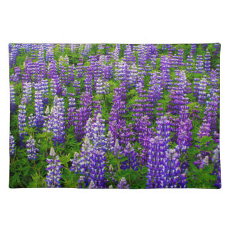Iceland. Vik i Myrdal. Field of Lupines Placemat