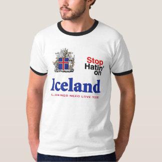 Iceland Vikings Need Love Too Ringer T-Shirt