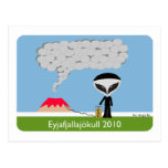Iceland Volcano 2010 Postcard