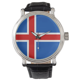Iceland Watch - The flag of Iceland
