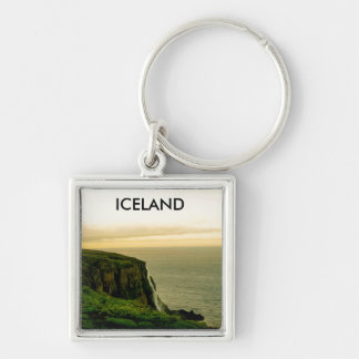 Iceland Waterfall Key Ring