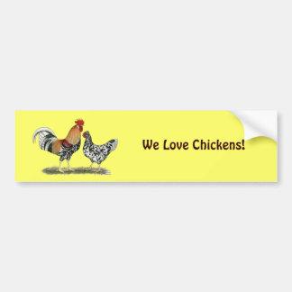 Icelandic Chickens Bumper Sticker