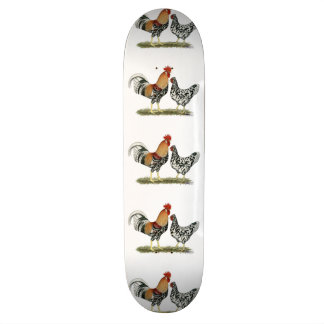 Icelandic Chickens Skate Board Deck