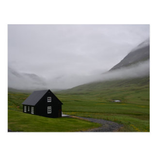 Icelandic Cottage Postcard