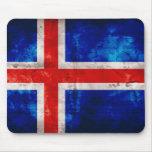 Icelandic Flag Mouse Pad