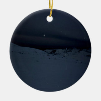 Icelandic Glacier Christmas Ornament