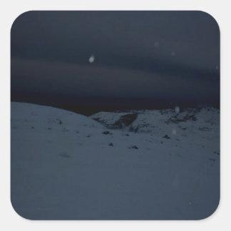 Icelandic Glacier Square Sticker