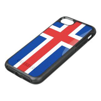 Icelandic glossy flag OtterBox symmetry iPhone 8/7 case