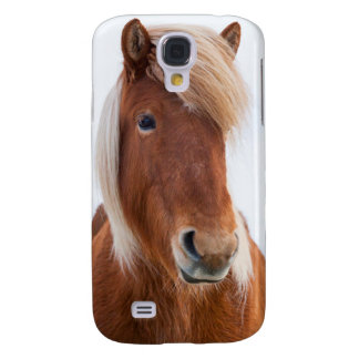 Icelandic Horse during winter  2 Galaxy S4 Case