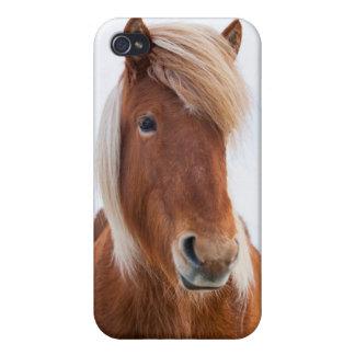 Icelandic Horse during winter  2 iPhone 4/4S Cases