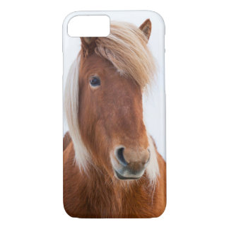 Icelandic Horse during winter  2 iPhone 7 Case