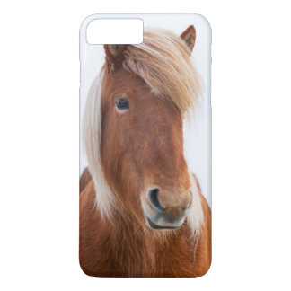 Icelandic Horse during winter  2 iPhone 8 Plus/7 Plus Case