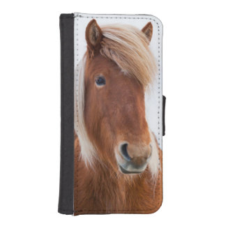 Icelandic Horse during winter  2 iPhone SE/5/5s Wallet Case