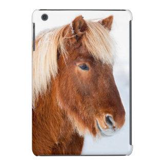 Icelandic Horse during winter near lake Myvatn iPad Mini Covers