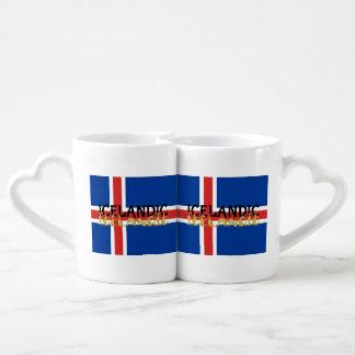 Icelandic Horse Flag Couples Mug