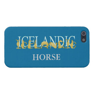 Icelandic horse iPhone 5/5S cover
