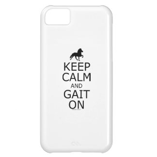 Icelandic Horse Keep Calm Gait On iPhone 5C Cover