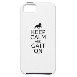 Icelandic Horse Keep Calm Gait On iPhone 5/5S Case