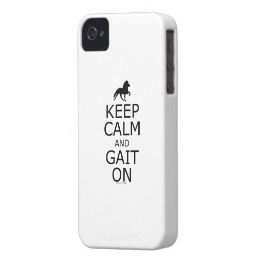 Icelandic Horse Keep Calm Gait On iPhone 4 Cover