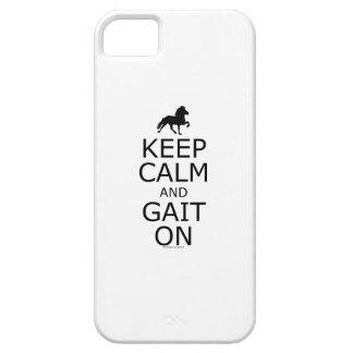 Icelandic Horse Keep Calm Gait On iPhone 5 Cases