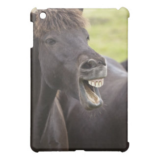 Icelandic horse with funny expression iPad mini covers