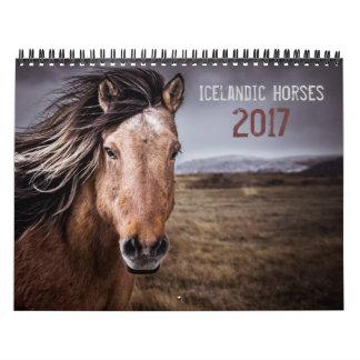 Icelandic Horses Calendar