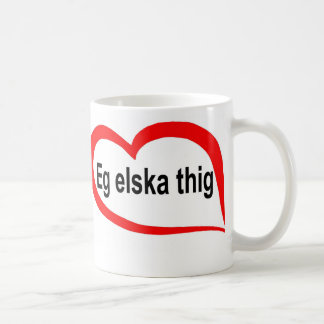 Icelandic I love you Mugs