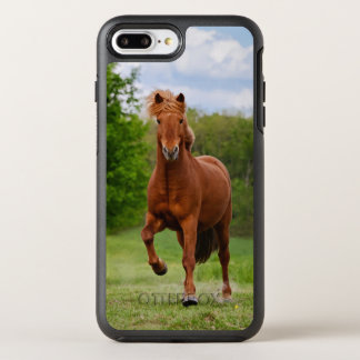 Icelandic Pony at Tölt Funny Photo Horse Lovers _ OtterBox Symmetry iPhone 7 Plus Case
