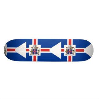 Icelandic Presidential, Iceland flag Skate Decks