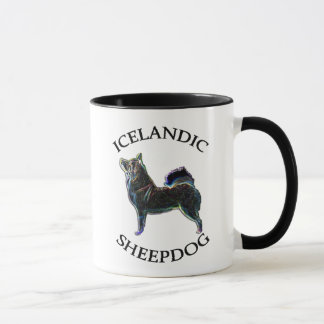 Icelandic Sheepdog owner 11oz. mug. Stylized dog. Mug