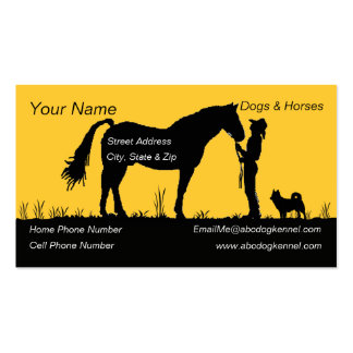 Icelandic Sheepdog Sunset Silhouette Pack Of Standard Business Cards