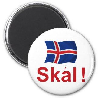 Icelandic Skal! (Cheers) Magnet