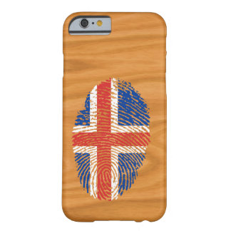 Icelandic touch fingerprint flag barely there iPhone 6 case