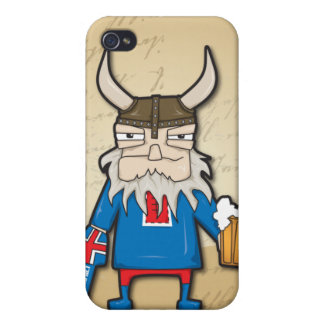 Icelandic Viking iPhone4 Covers For iPhone 4