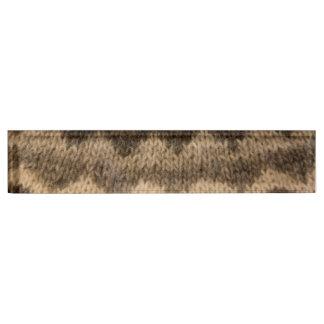 Icelandic wool pattern name plate