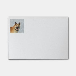 IcelandicSheepdog20150904 Post-it Notes