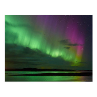 Iceland's Northern Lights Postcard