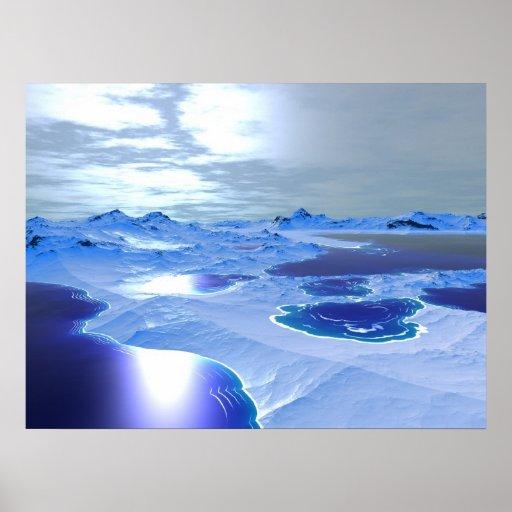 Iceplanet Print