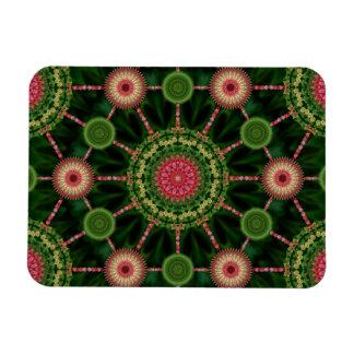 Iceplant Mandala Array Christmas Magnet